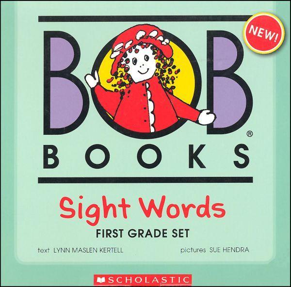 Bob Books Sight Words First Grade Set Pinterest Homeschool