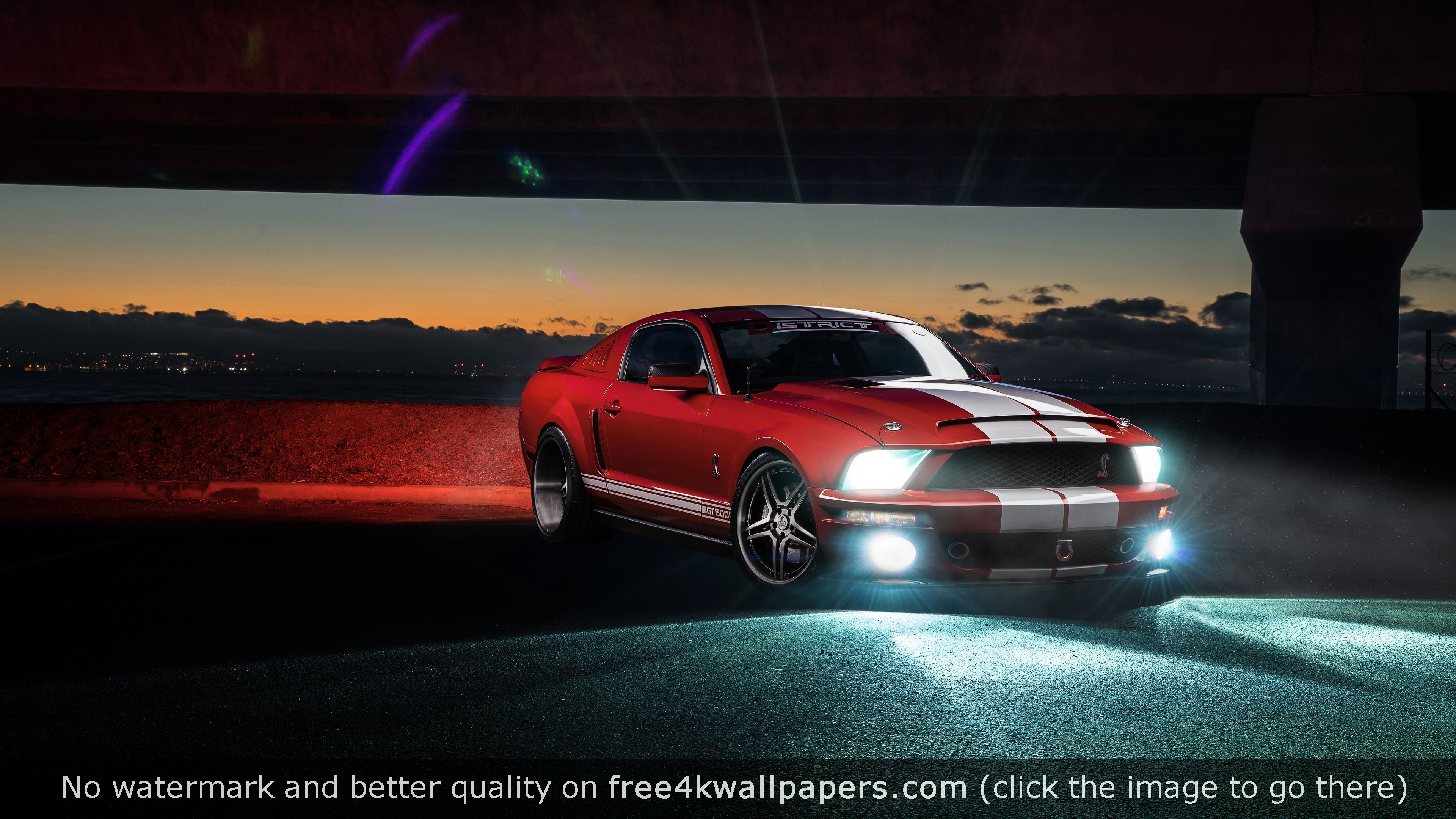Ford Mustang Shelby Gt 4k Wallpaper With Images Ford Mustang