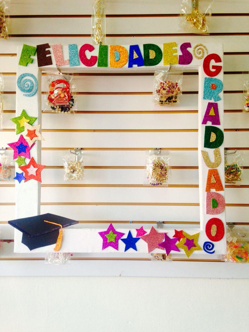 Marco para tomar fotos graduación | fotos y fiestas | Pinterest ...
