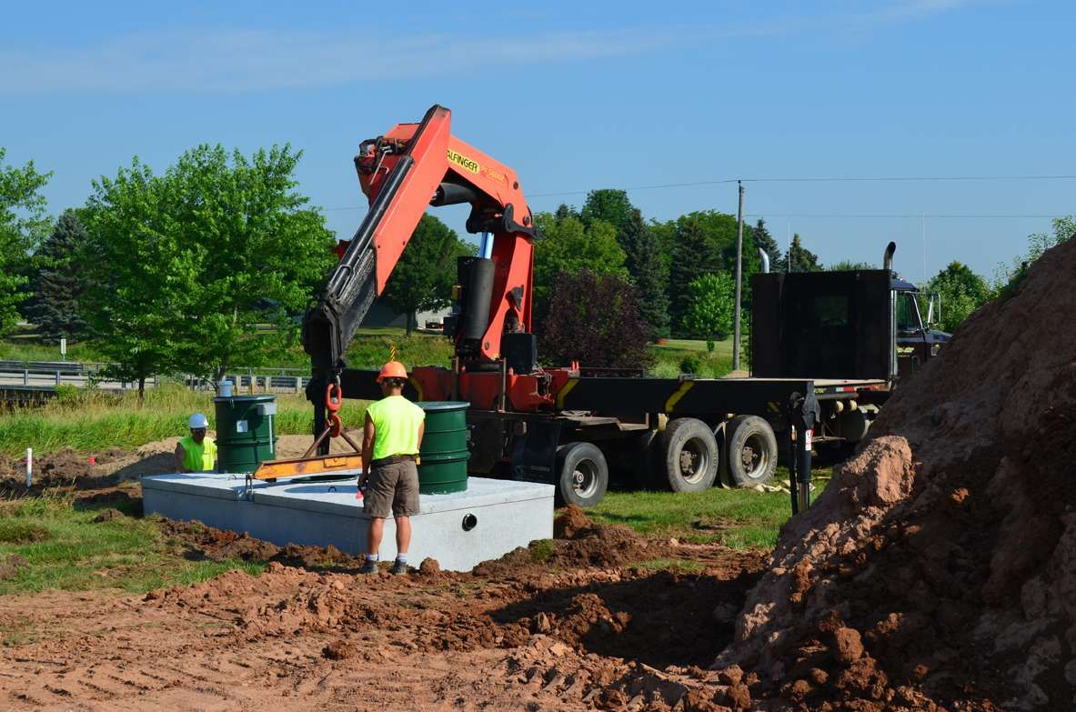 How A Septic System Works Septic system, Septic tank