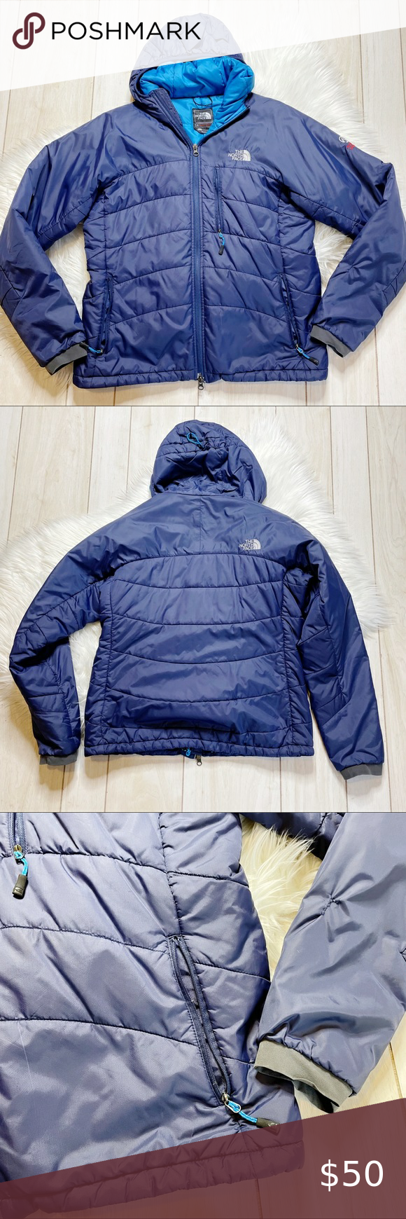 The North Face Navy Blue Puffer Coat Jacket Puffer Coat Black North Face Jacket North Face Puffer Jacket [ 1740 x 580 Pixel ]