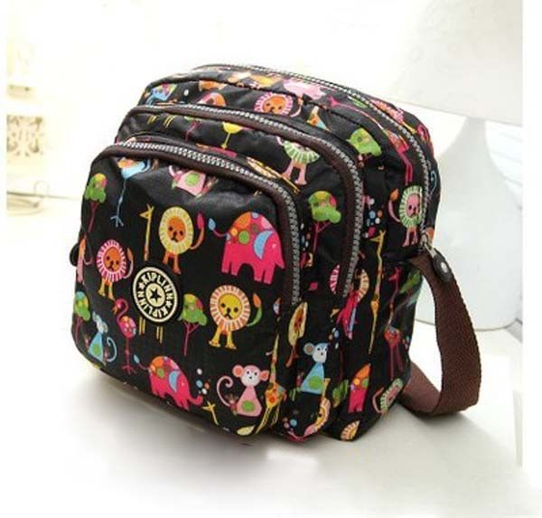 Hot Sale Small Women Messenger Bags Girl Sprt Bags High Quality Shoulder Bag Women Handbag Three Zipper Pocket Crossbody bag