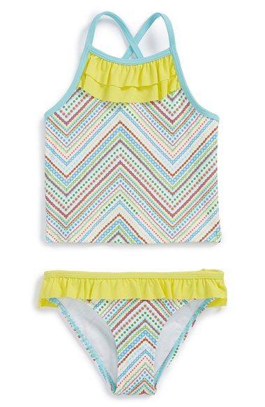 273403827ff Tucker + Tate Tankini Two-Piece Swimsuit (Toddler Girls, Little Girls & Big  Girls) | Nordstrom