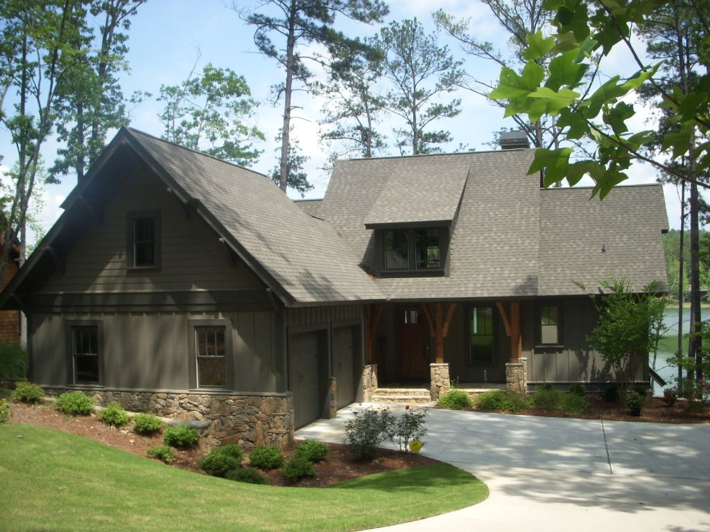 Mitchginn S Image Lake House Plans Craftsman Lake House Lakefront Homes