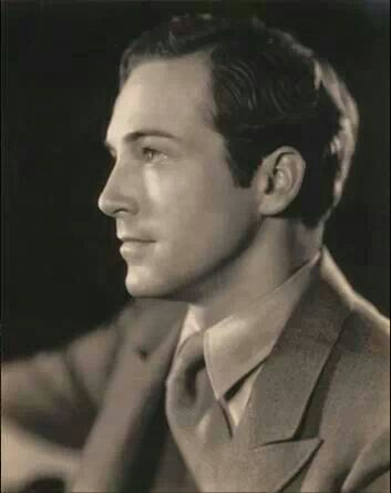 Very charming pre code actor David Manners.
