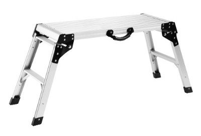 Finether Aluminum Work Platform Drywall Step Up Folding