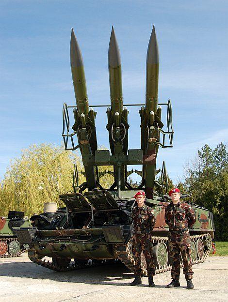 Hungarian SA-6 modernized 'Kub' launcher [470x624]
