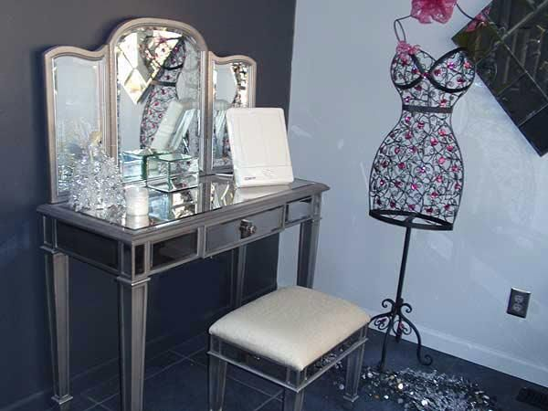 Pier 1 Hayworth Vanity, Mirror and Bench | VANITY | Pinterest ...