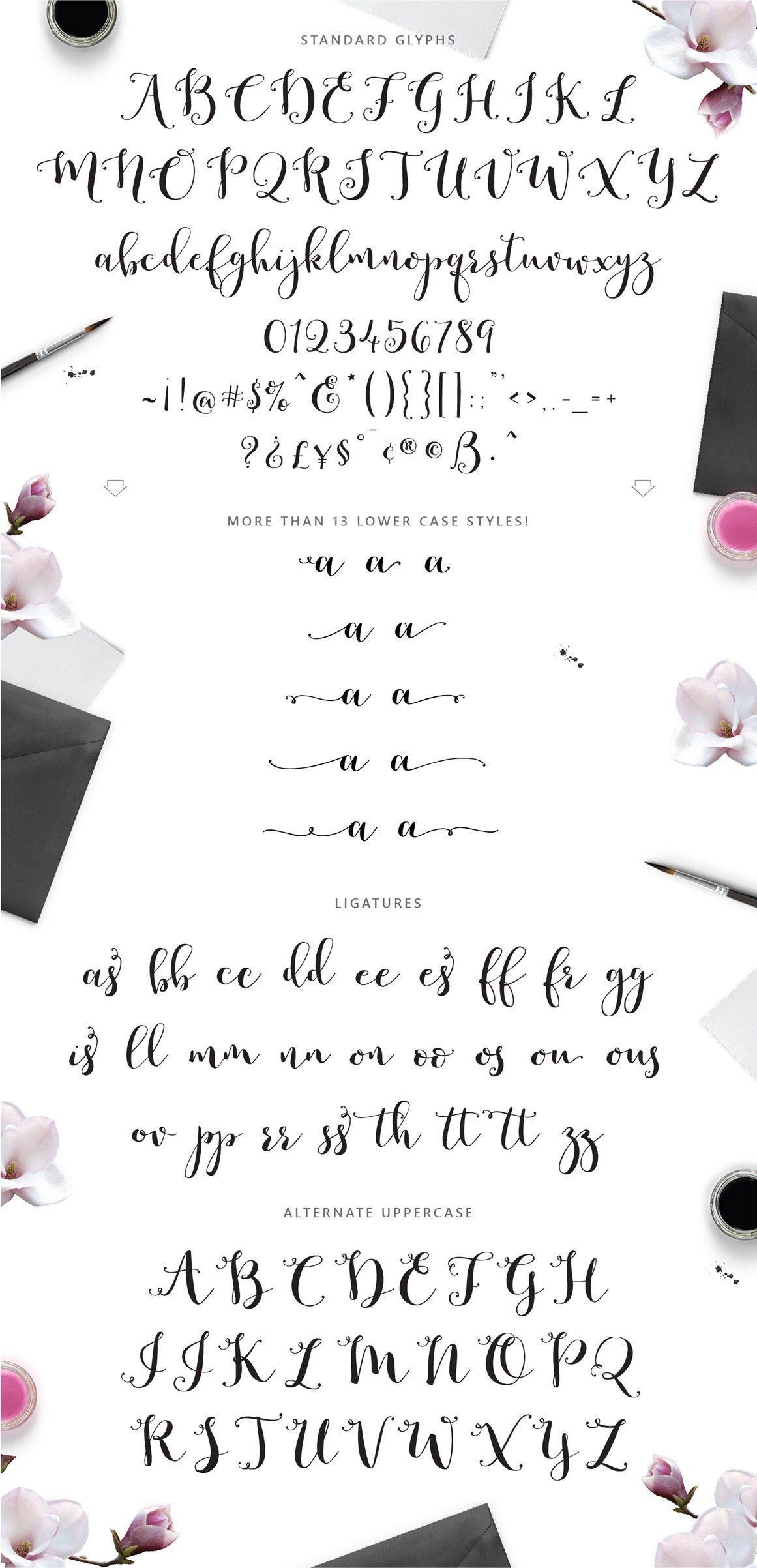 Romantic Script In