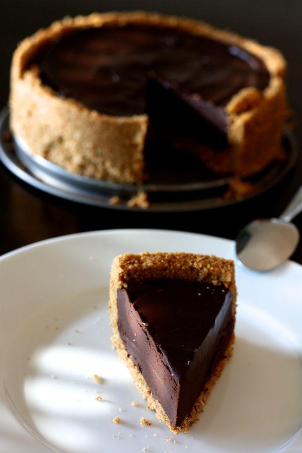 tarte au chocolat facile sans cuisson fond biscuit 233 le chocolat cuisson et tartes