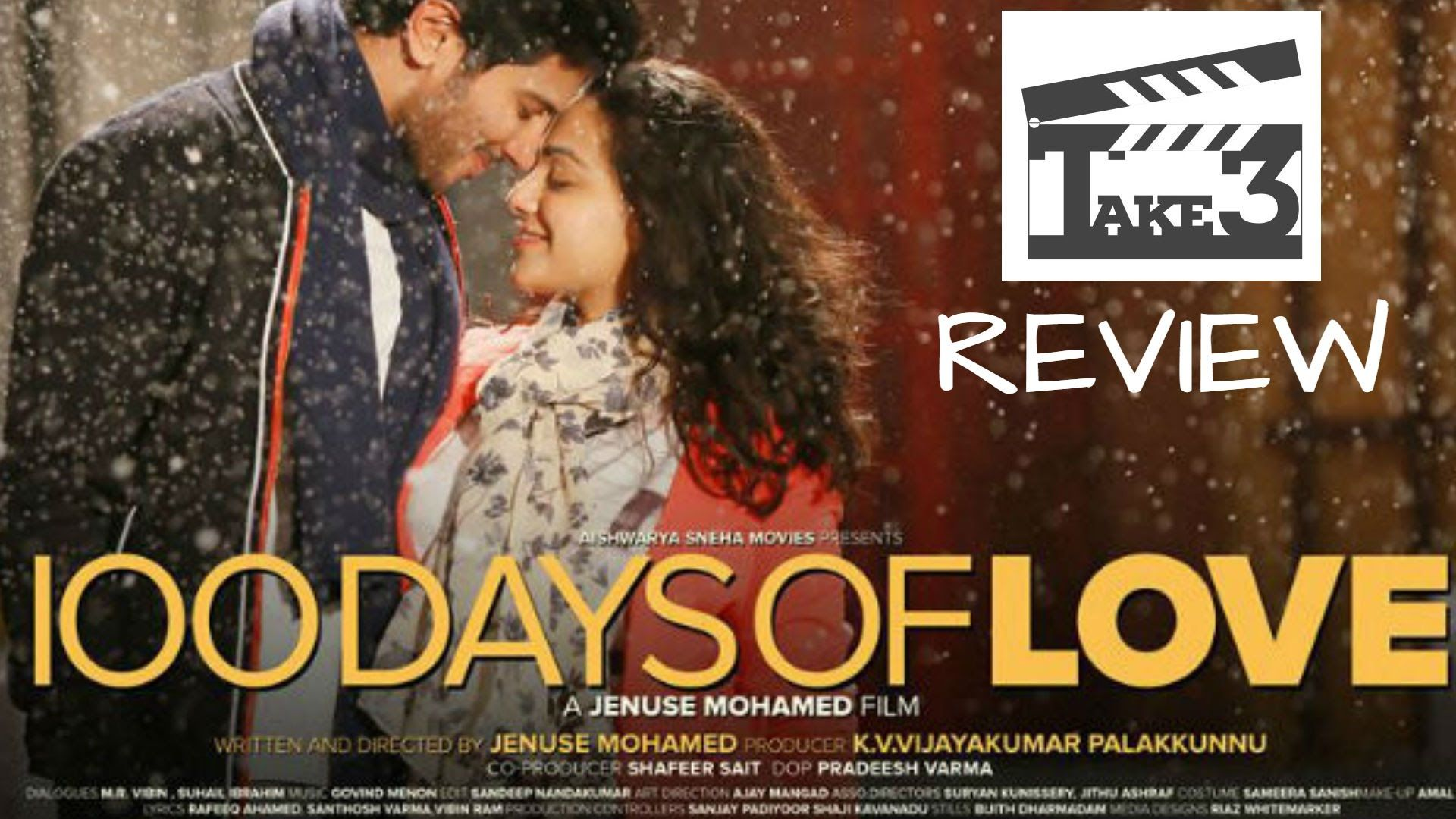 100 days of love telugu movie review dulquer salmaan nithya menon