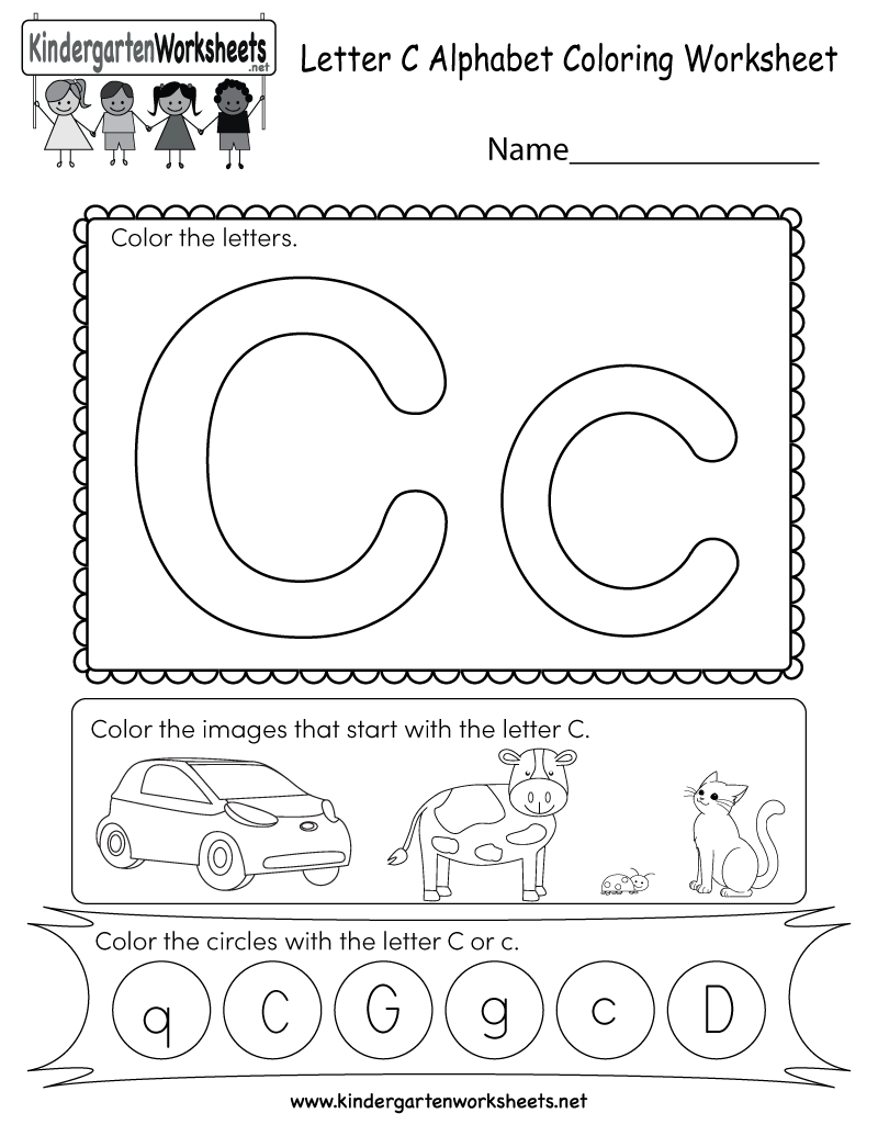 this is a fun letter c coloring worksheet kids can color the uppercase and lowercase letters. Black Bedroom Furniture Sets. Home Design Ideas
