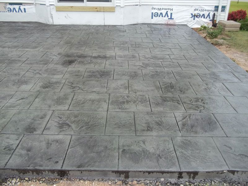 Cottage Slate Pattern With Gull Gray