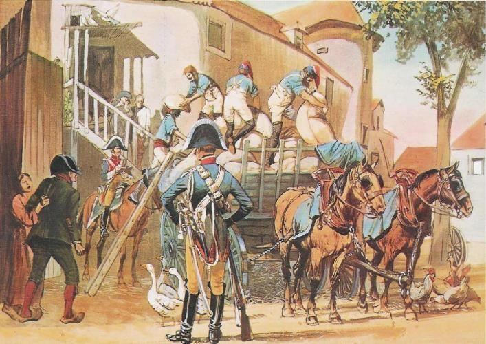 Requisition De La Grande Armee De Napoleon  Gendarmerie Et