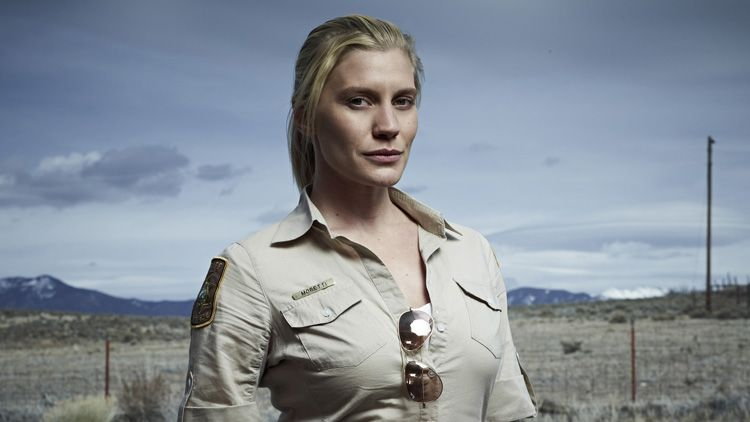 from Hugo katee sackhoff shows pussy