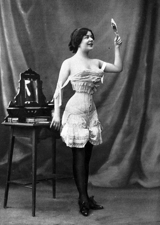 f51d69eb7d44 french underwear 1900 women - Google Search | Flea In Her Ear ...