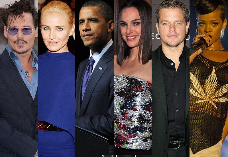 Celebrities and Marijuana