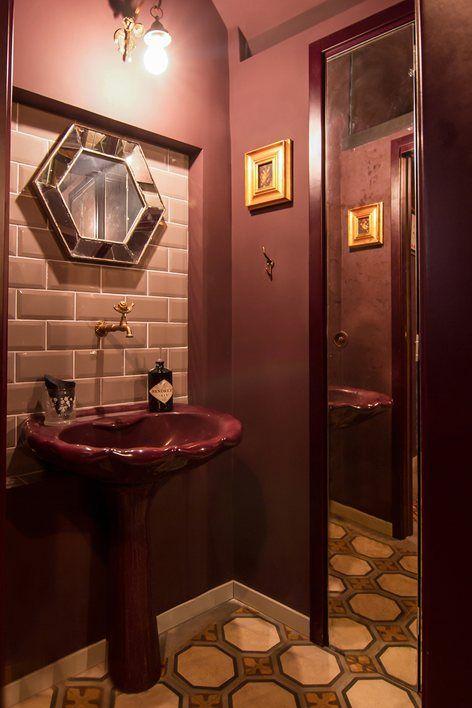 la matta bitonto 2015 noemi morea bistrot bathroom old style mid century modern - Midcentury Bathroom 2015