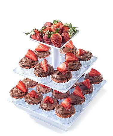 Look at this #zulilyfind! Chef Buddy 3 Tier Cupcake Dessert Stand Tray - 10 Different Options by Chef Buddy #zulilyfinds