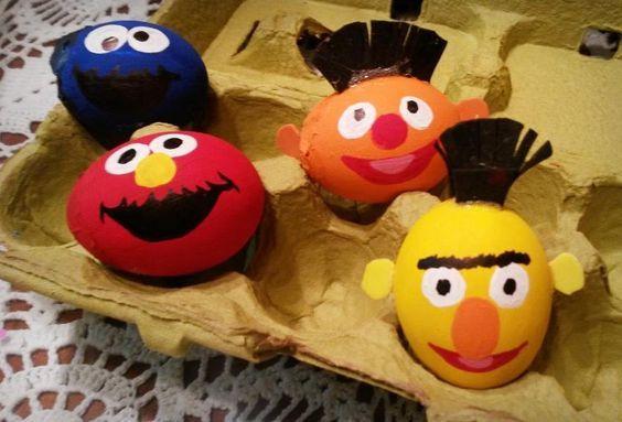 plaza sesamo egg huevo Eggs Huevos decorados Pinterest Egg - huevos decorados