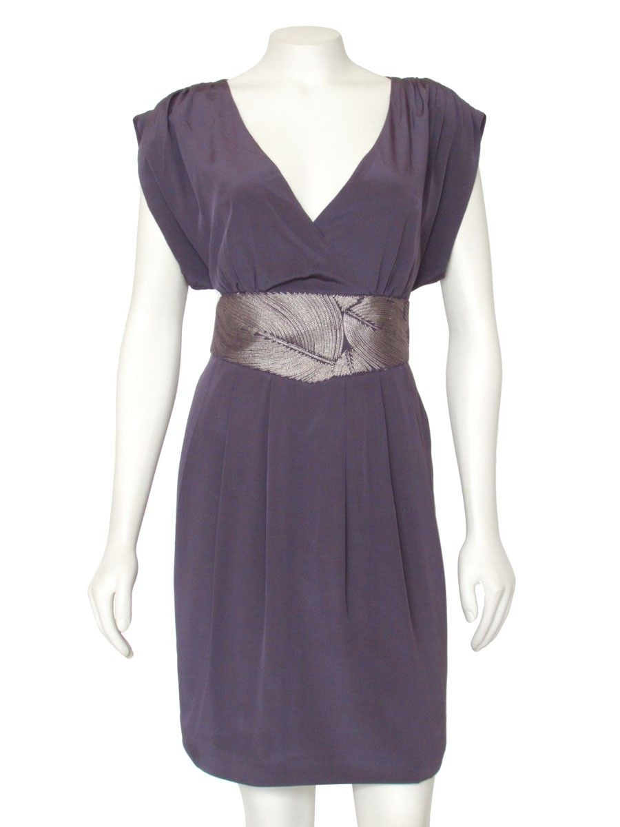Grecian inspired silk dress from Tibi, done in a gorgeous muted ...