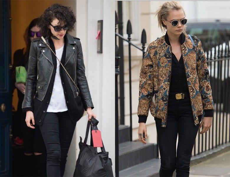Los looks con los que Cara Delevingne y St. Vincent dejaron Londres