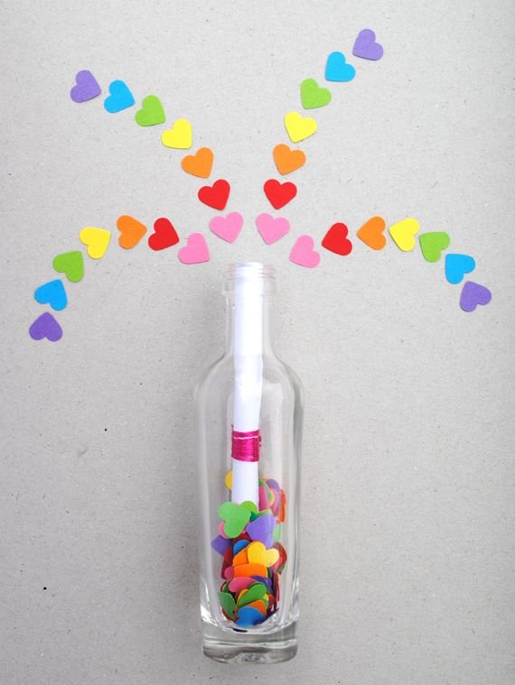 Invisible Ink-Message In A Bottle