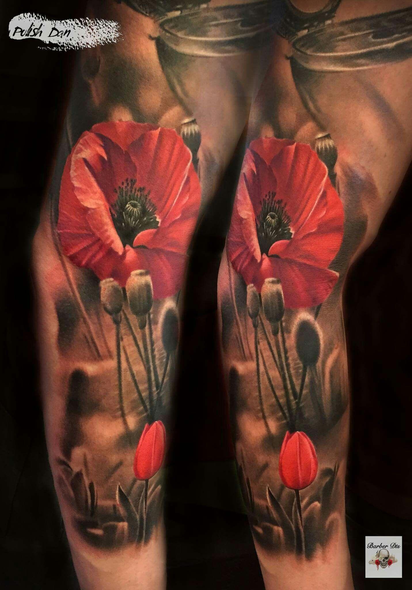 How To Get Rid Of A Bad Tattoo Mohnblumen Tattoo Tattoos Bein Bunte Tattoos