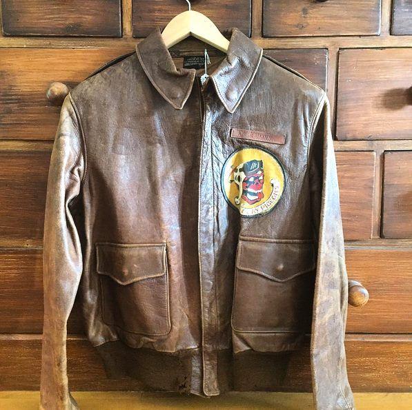 #A2jacket Aero Leather 40-3785P