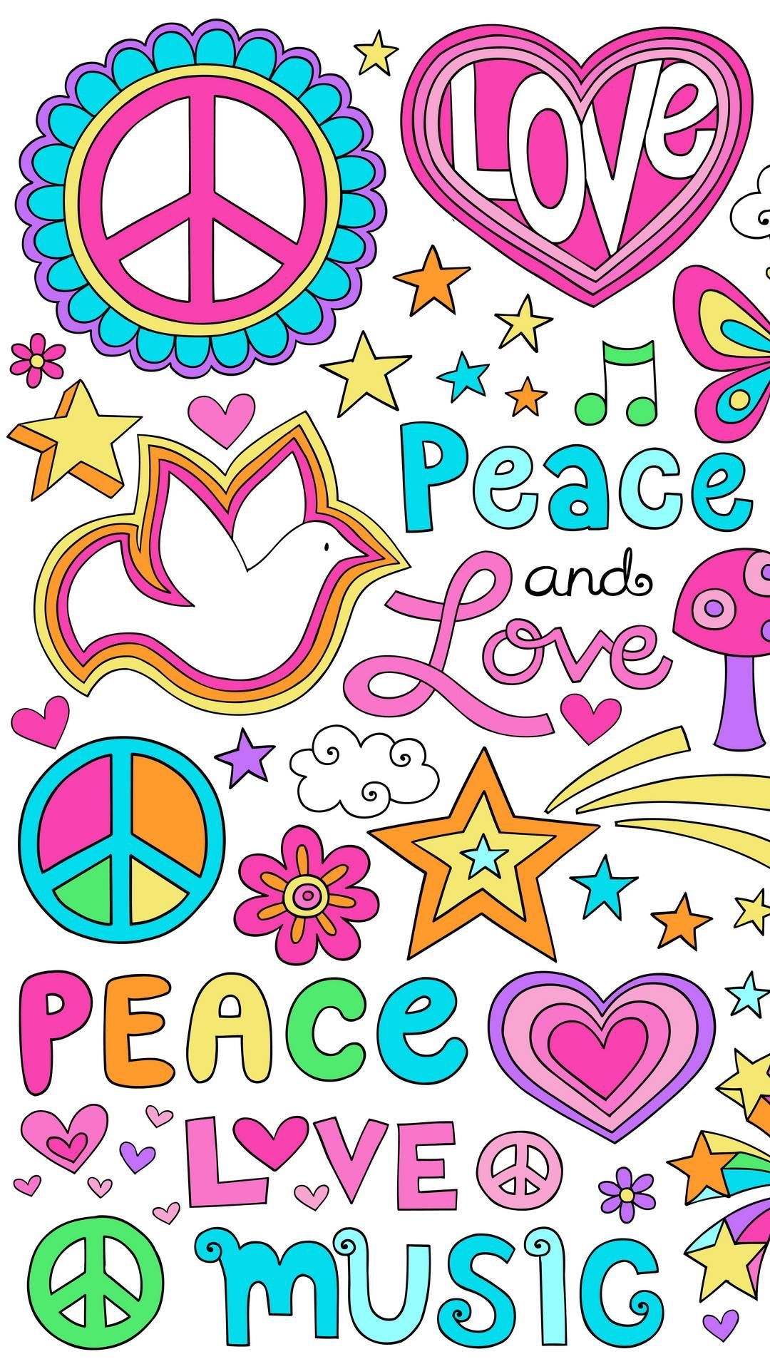 Pin by Mimi Monahan on PEACE Hippie wallpaper, Peace and