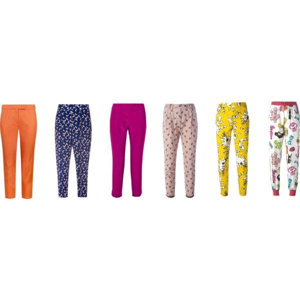 sg pants by shop2082 on Polyvore featuring мода, Giambattista Valli, Moschino, STELLA McCARTNEY, RED Valentino and Milano Parigi