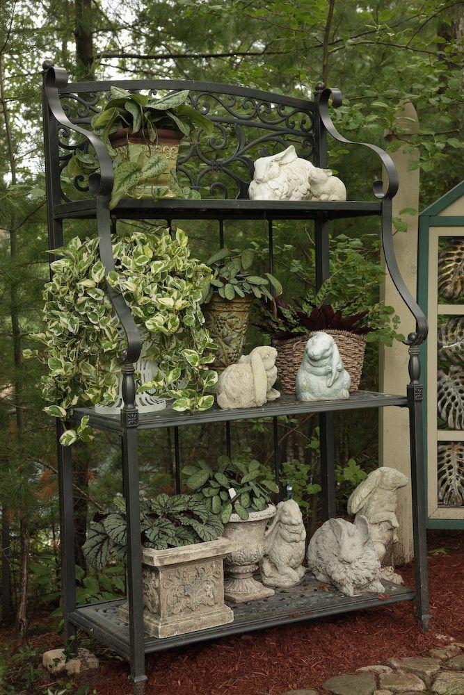 Bunny Baker's Rack Garden...so sweet!
