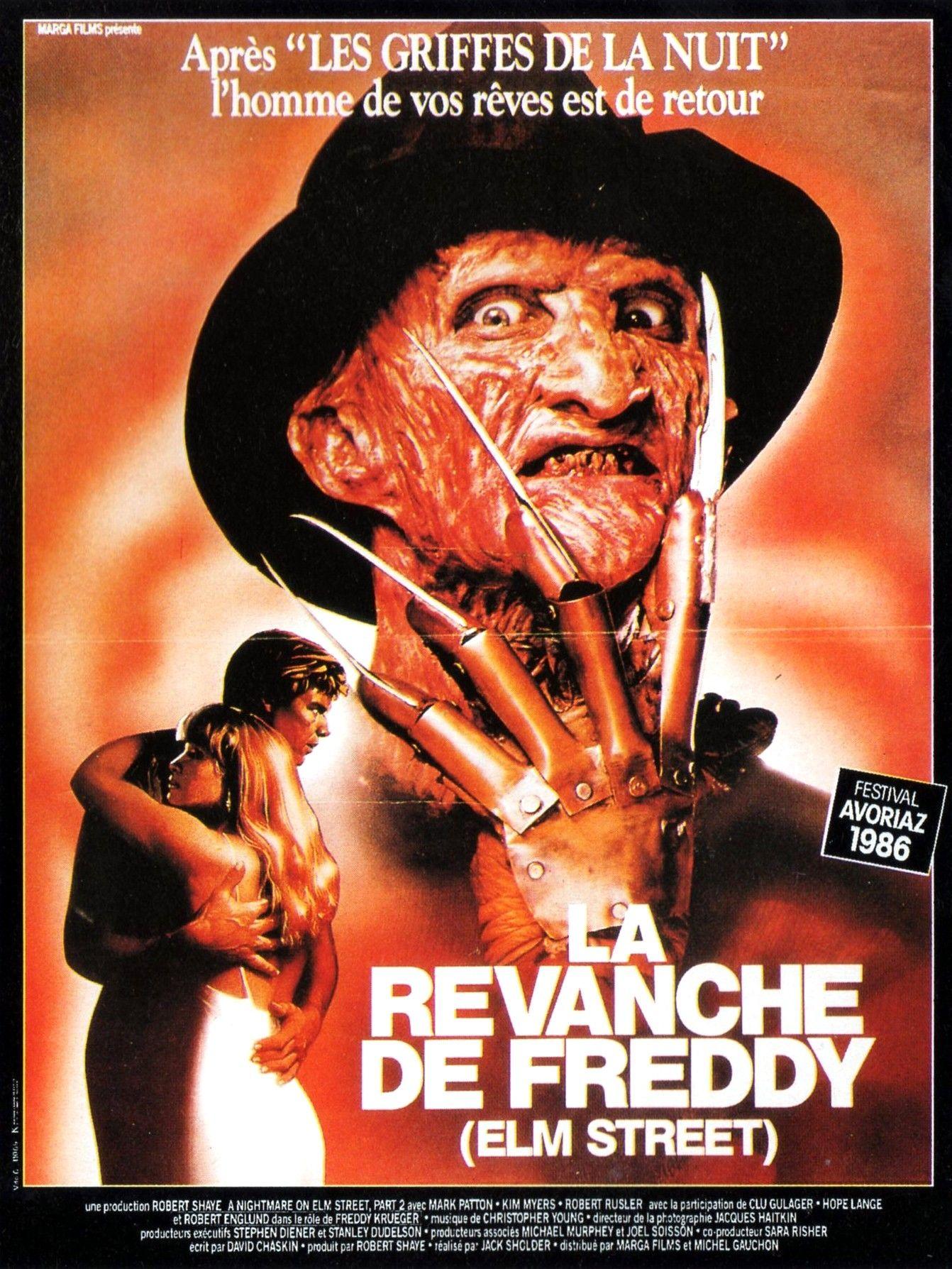 A Nightmare On Elm Street 2 Freddy S Revenge 1985 Nightmare On Elm Street Freddy S Revenge A Nightmare On Elm Street