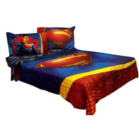 Home Superman Bedroom Comforters Superman