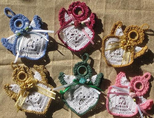 Ravelry Robbie S Angel Pattern By Freddie Short Crochet