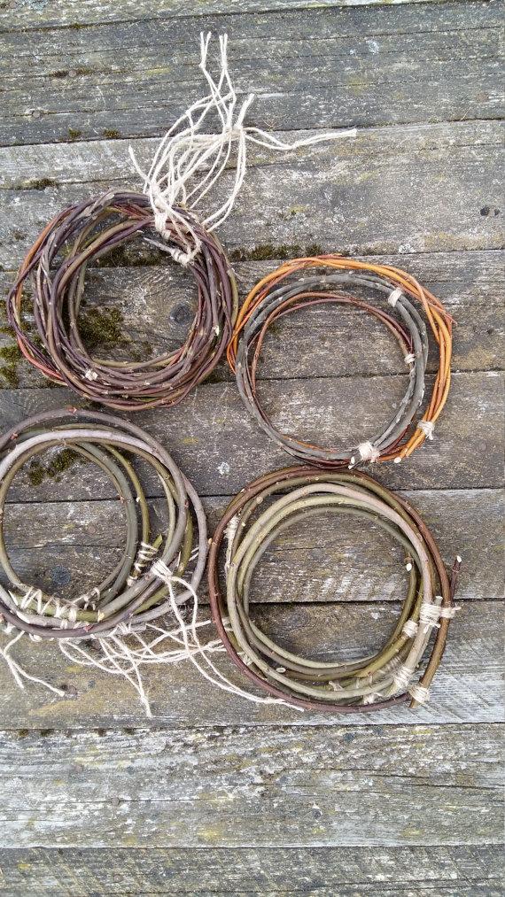 Dream Catcher Craft Supplies willow hoop dreamcatcher circle natural twig dream catcher art 14