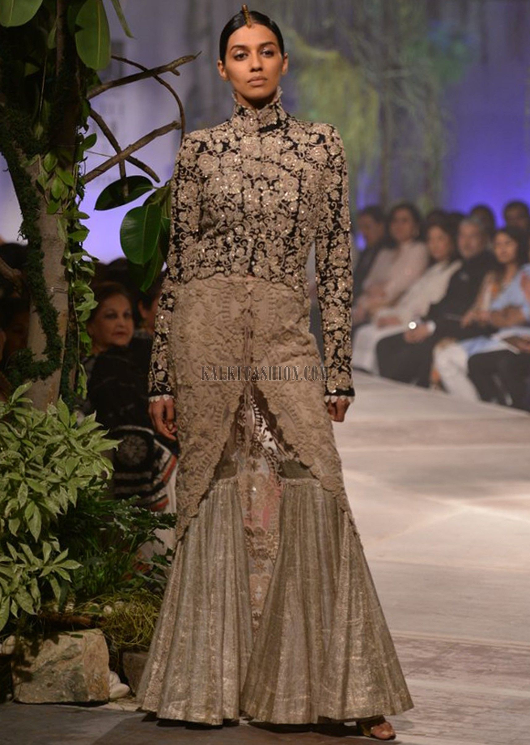 Anamika Khanna collection - unique concept. Stunning Outfit.