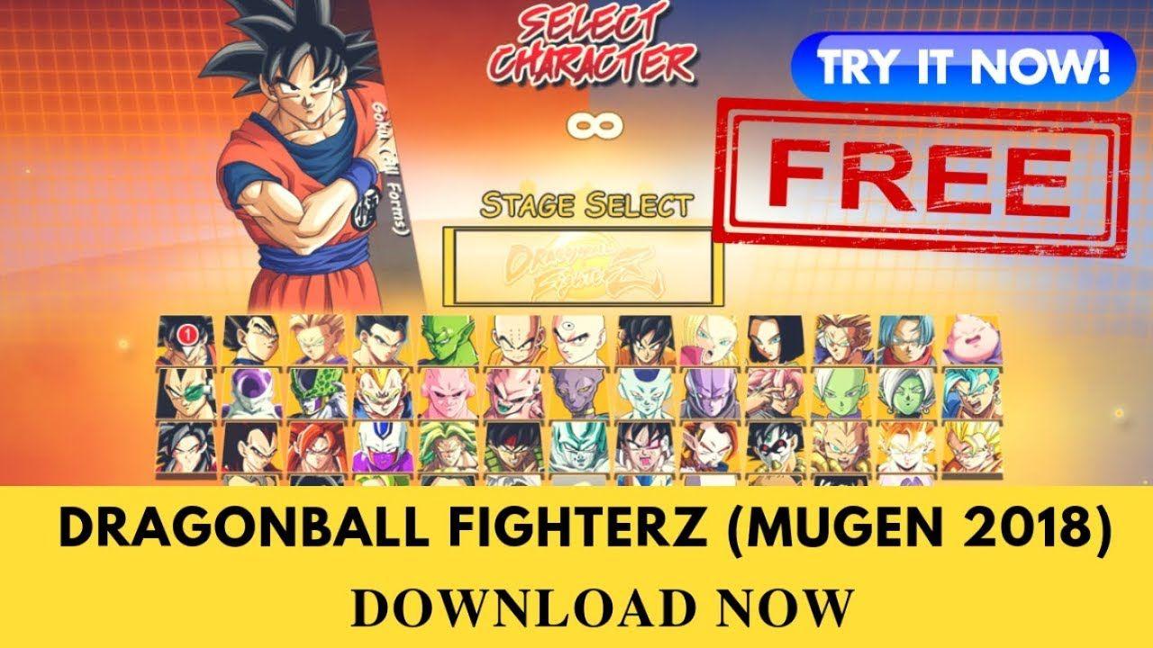 [Free Download] Dragon Ball FighterZ Mugen 2018 (MUGEN