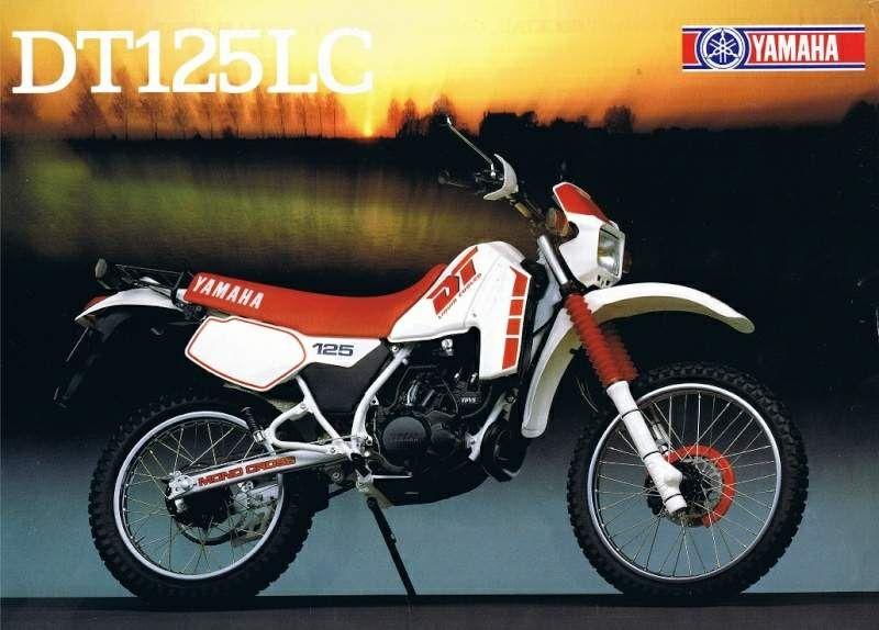 Dt 125lc 1985 Com Imagens Carros Motos Auto