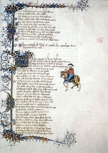 chaucer canterbury tales middle english