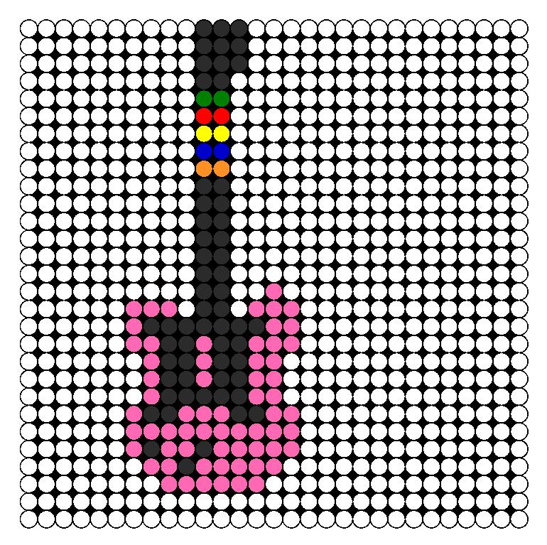 guitar guitar perler bead pattern bead sprites