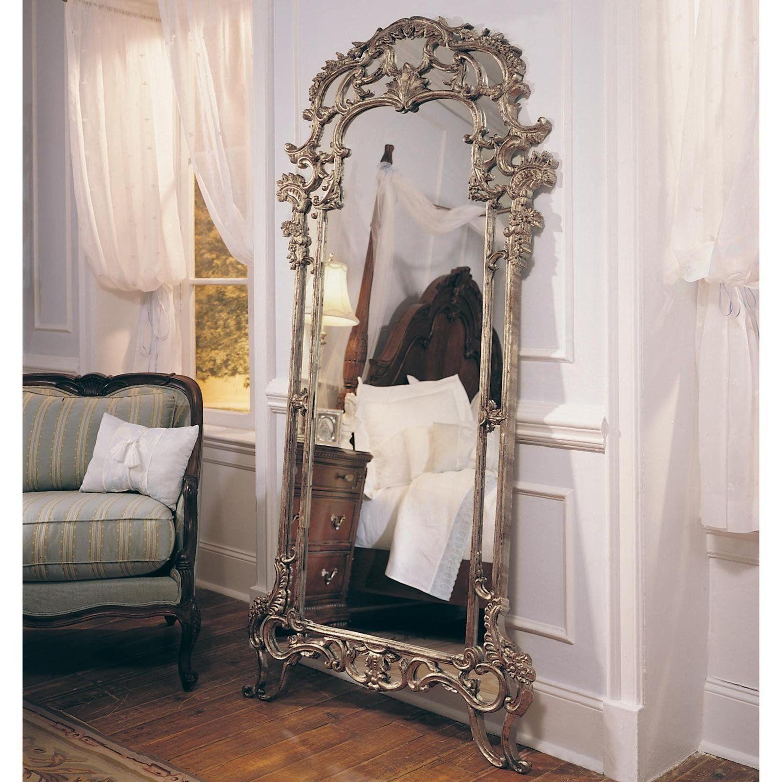 Espelho De Corpo Inteiro Decora O Quarto Pinterest  ~ Espelho Decorado Para Quarto E Quarto Feminino Vintage