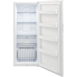 Frigidaire 13 Cu Ft Frost Free Upright Freezer In White With Reversible Door Fffu13f2vw The Home Depot In 2020 Upright Freezer Freezer Frigidaire