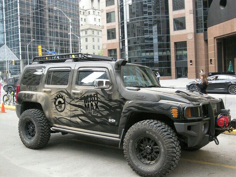 Hummer H3 Mad Max Hummer H3 Hummer Hummer H2