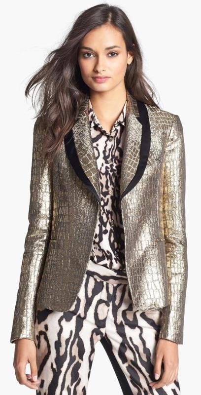 b9600ce50bf4 Metallic Blazer | Nordstrom Half Yearly Sale | Fashion, Fall blazer ...