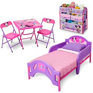 Minnie Mouse Room Decor Walmart.Disney Minnie Mouse 3 Piece Room In A Box For 99 98 Orig