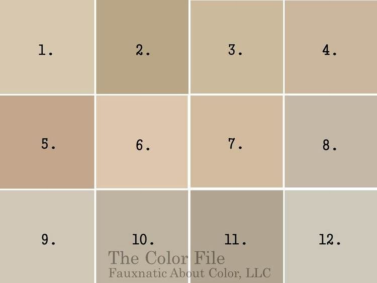 The 4 Best Neutral Paint colors that will work in any home: Benjamin Moore  Shake... Home Painting : Home Painting
