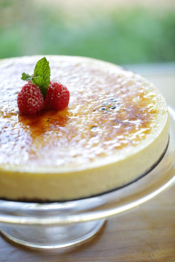 Creme Brûlée Cheesecake Recipe Creme brulee cheesecake