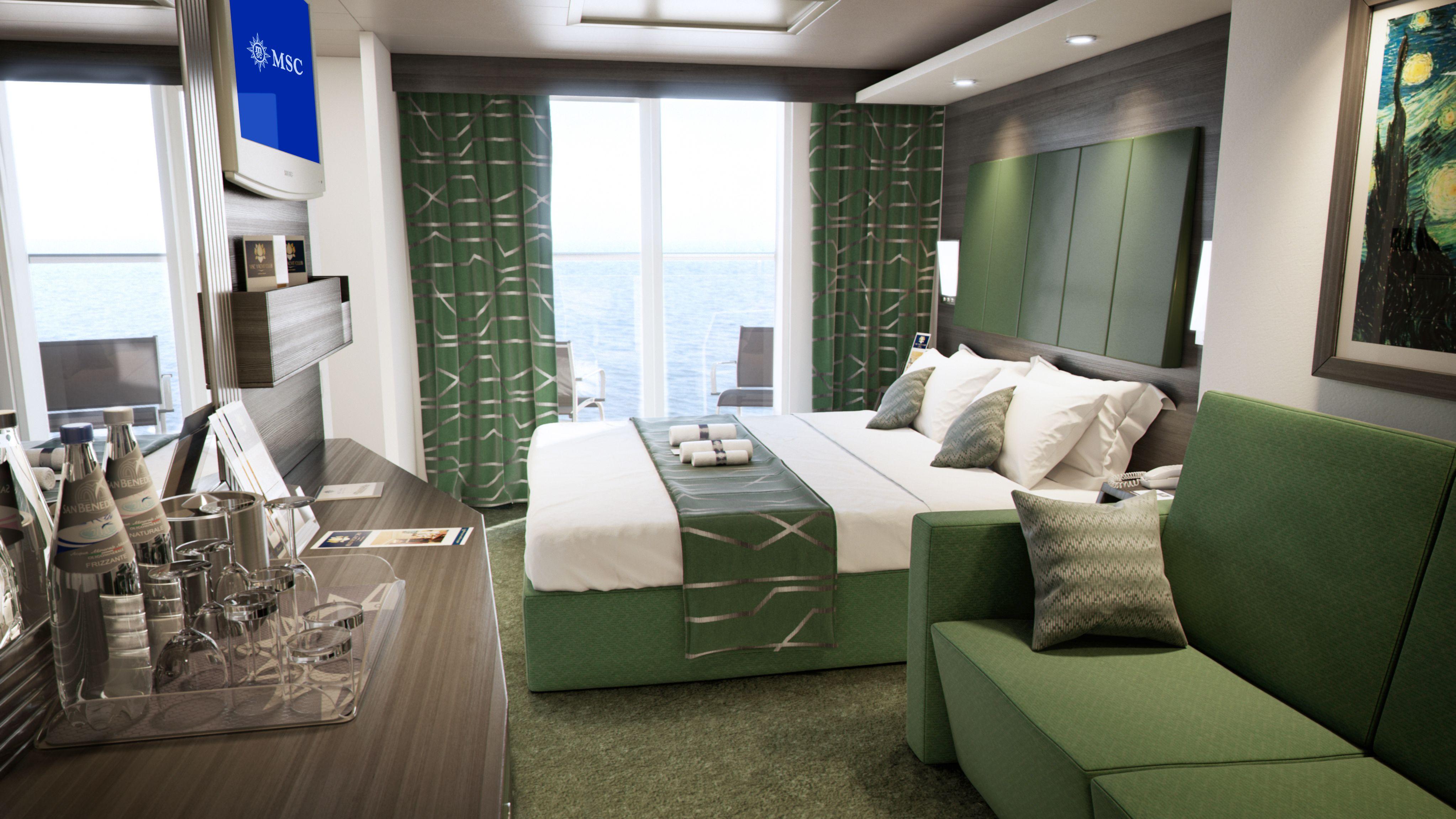 #MSCMeraviglia - 75% of cabins have a sea view. | Cruise ship