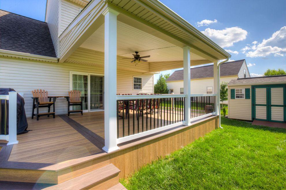 Underpinning around deck Decorations to Your Exterior